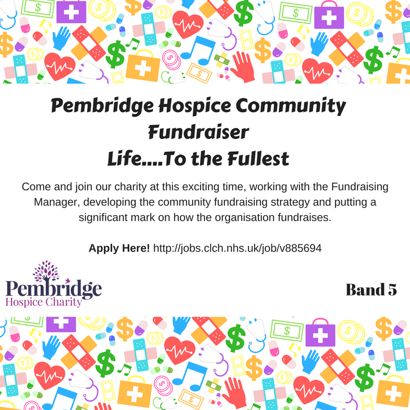 Can you build relationships and promote the hospice to local community groups, companies and supporters? If so, you might want to join the team as our first community fundraiser! Read more on #charityjobs https://t.co/aFcnV4ITvH