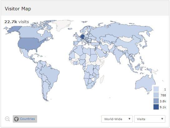 Oer World Map On Twitter Proud To Have Visitors On Oerworldmap