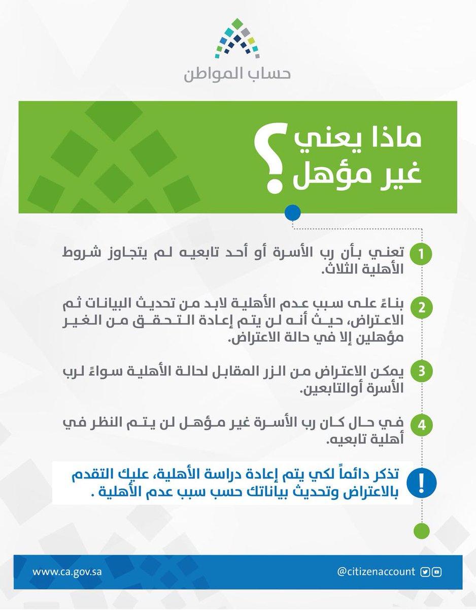 هنا  مستحقي دعم برنامج حساب المواطن السعودي 1439 ورابط بوابه المواطن الالكترونية 1 13/2/2018 - 2:20 ص