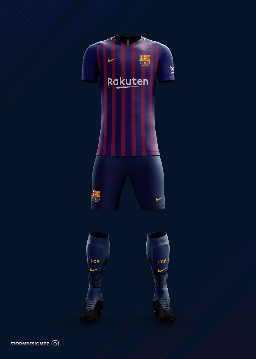 Pictures Of Barcelona S Jersey For Next Season 2018 19