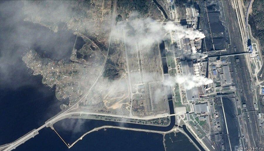 Дымовая труба из нержавеющей стали фото
