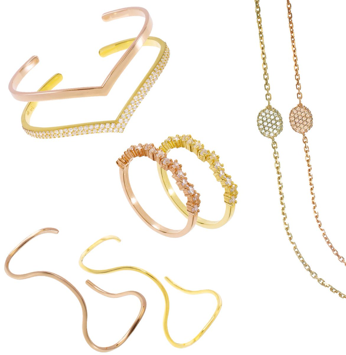 Pinch, Punch, 1st of the month. Time for something new! Let's clash https://t.co/KQKjnoCR9u #roseandyellowgold https://t.co/aq9vgpTicM