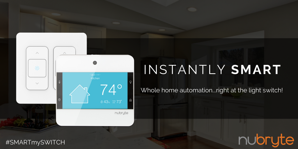 Whole Home Lighting Control Security Intercom System And Hub All At The Light Switch Explore Http Nubryte Smartmyswitch Smarthome