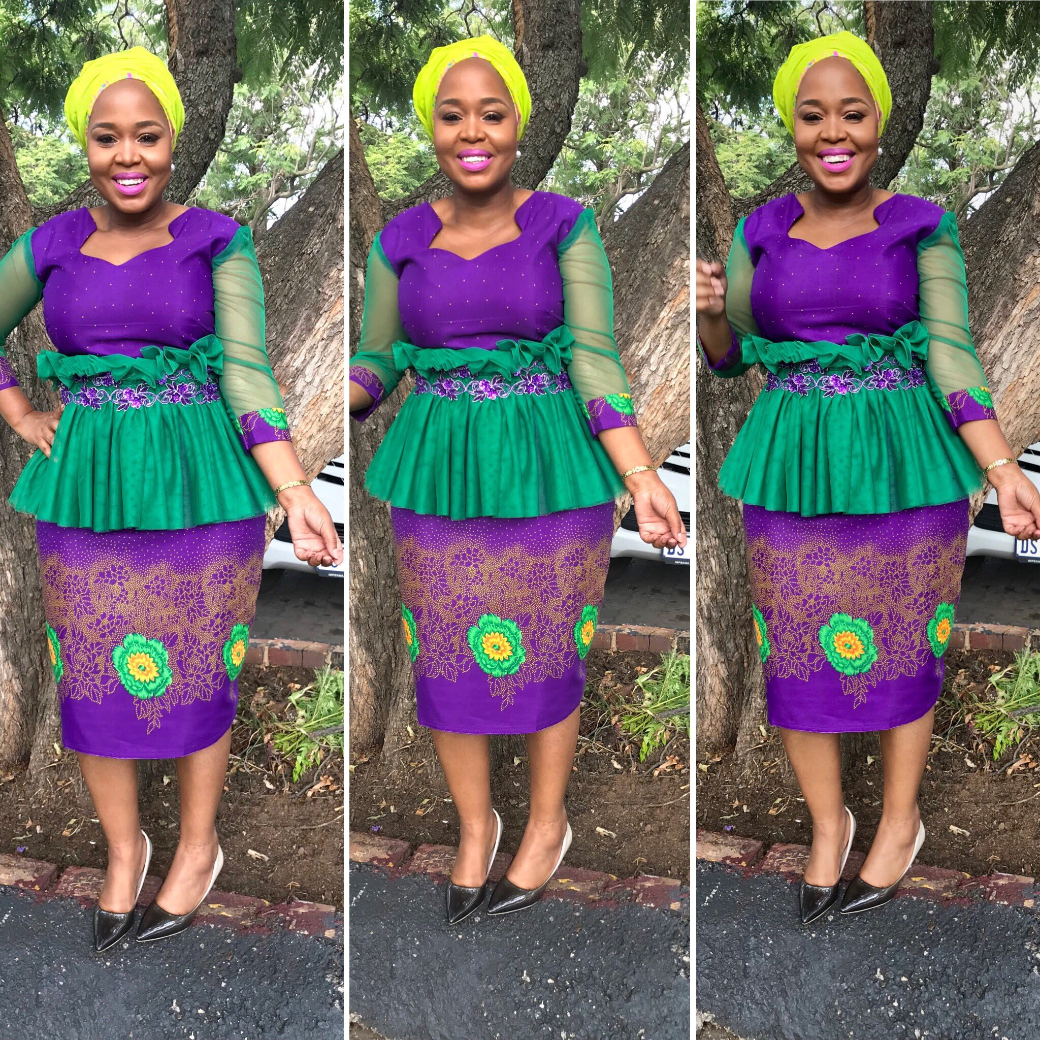 "Winnie Mashaba Outfits: Winnie Mashaba On Twitter: ""Dress 👗 By Pearl Wa Polokwane"