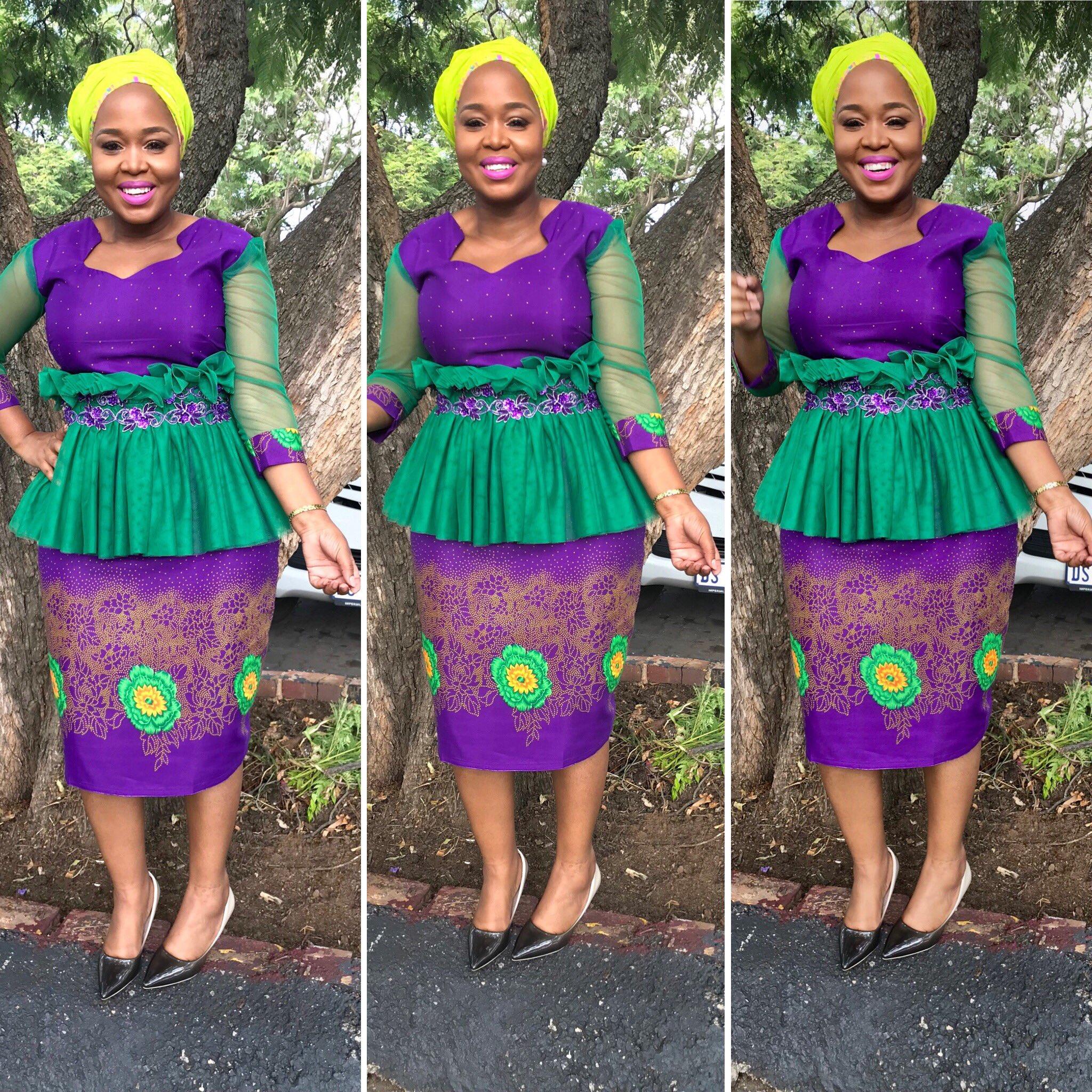 "Winnie Mashaba On Twitter: ""Dress 👗 By Pearl Wa Polokwane"
