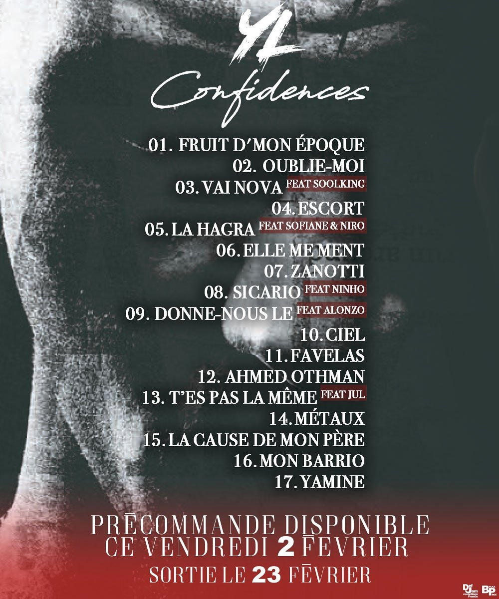 mixtape yl confidences