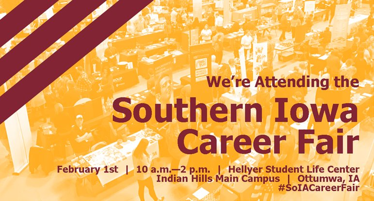 Are you searching for a new career or just want to explore other opportunities? Join us and many other hiring employers today at the Southern Iowa Career Fair. We're here to help change your tomorrow!  #SoIACareerFair <br>http://pic.twitter.com/Ivyv4nOKxM