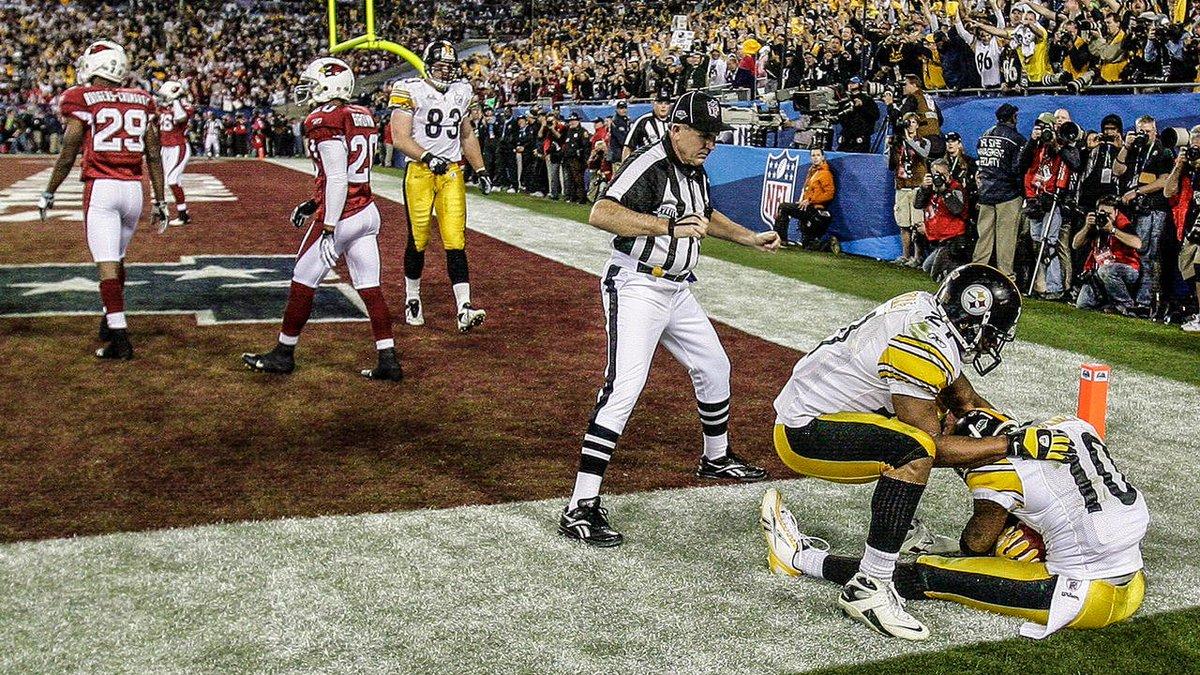 #OTD in 2009, Santonio happened.  #tbt #SteelersHistory