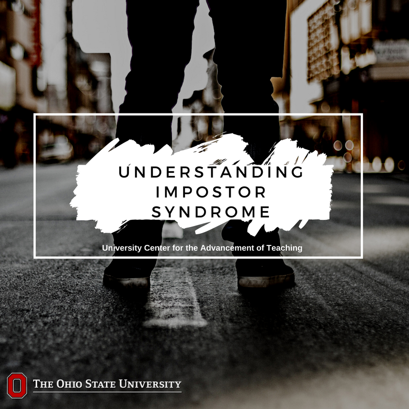 "Experiencing Impostor Phenomenon is not a bad thing. Even ""seasoned professionals"" feel that way sometimes. Remember, everyone has to start somewhere. https://t.co/ouozGRgC8F"