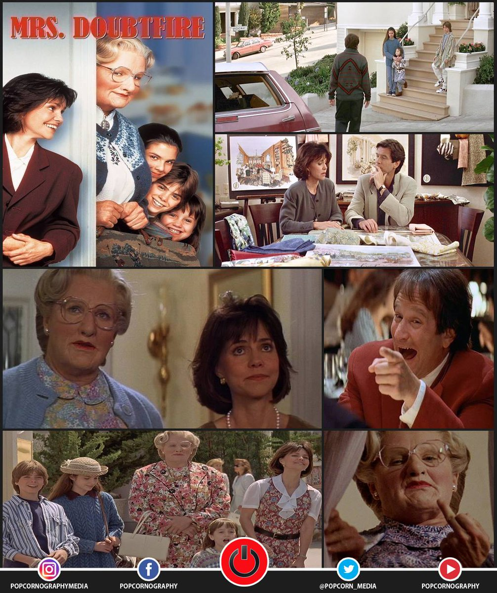 Popcornography On Twitter Mrs Doubtfire 1993 Director Chris Columbus Filmappreciation