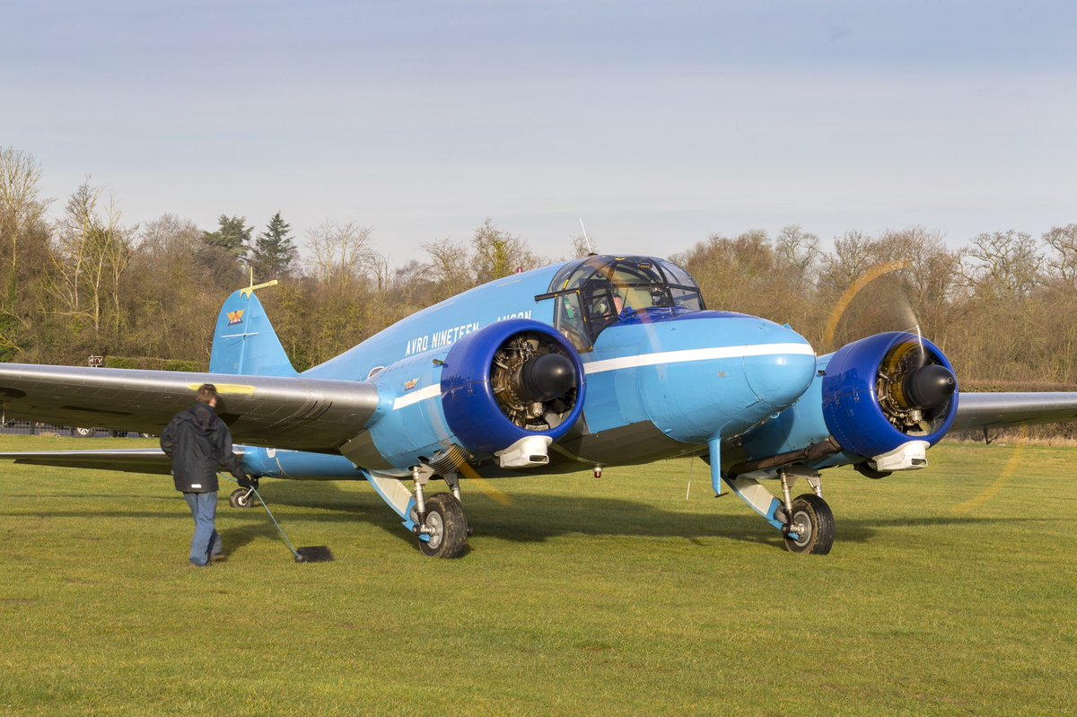 great shots of our avro anson heritage aircraft taking to the skies after maintenance at shuttleworth_ow pictures by darrenharbar