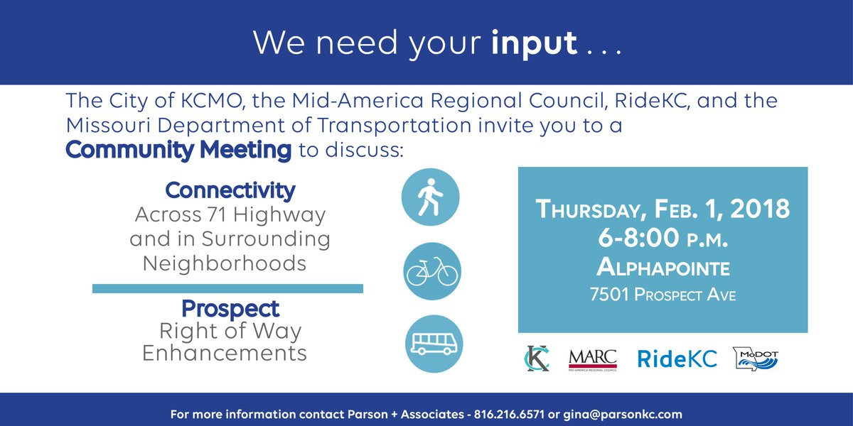 BikeKC On Twitter Reminder Join Us Tonight At Alphapointe To Discuss Connectivity Across 71 Highway And Surrounding Neighborhoods