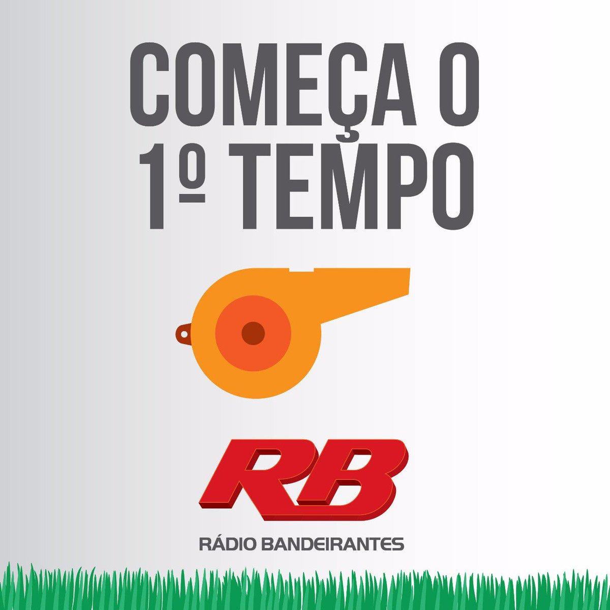 ⚽ 02' 1°T: Bola rolando no Morumbi. SAO 0 X 0 NOV Acompanhe o jogo pelo twitter da Rádio Bandeirantes!