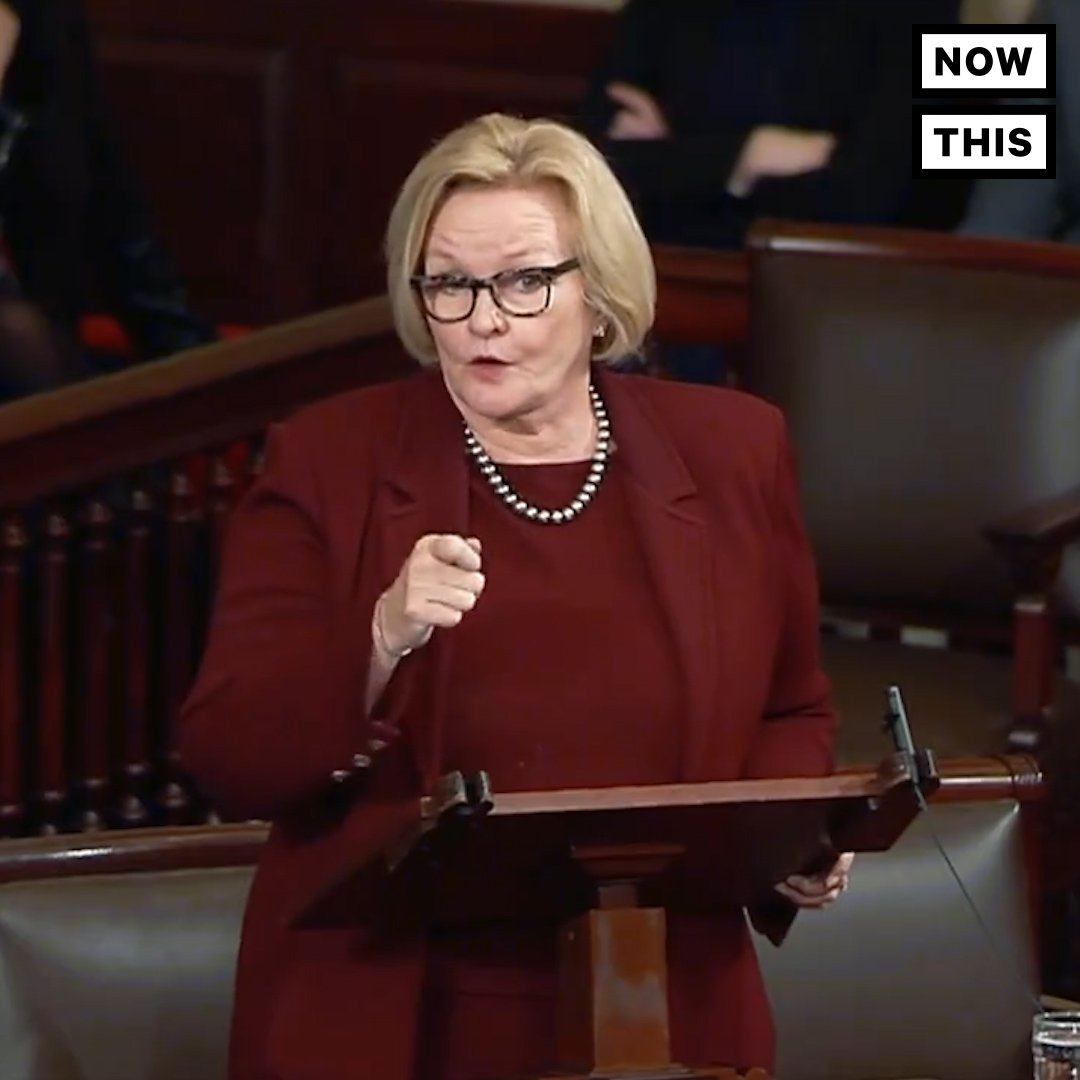 Watch the moment Sen. Claire McCaskill (D-MO) tried to pass a bill guaranteeing military pay and death benefits during the gov't shutdown — and GOP leader Mitch McConnell blocked it
