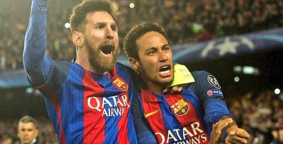 O dia em que Messi e Neymar comandaram a maior virada da história da Champions.