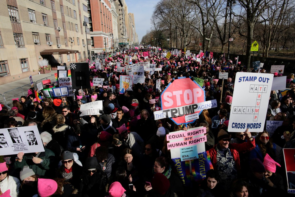 What's next for women activists after one year of Trump? https://t.co/NnK7Vpi3pn