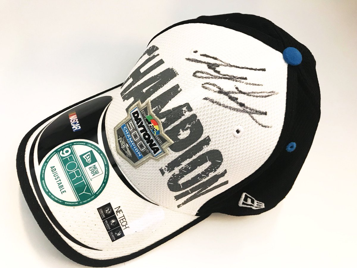 Ready for our next @NASCAR #FanAppreciationDay giveaway?!   RETWEET for your chance to win this 2015 #DAYTONA500 Champion hat signed by @joeylogano!   We'll pick a winner later today!