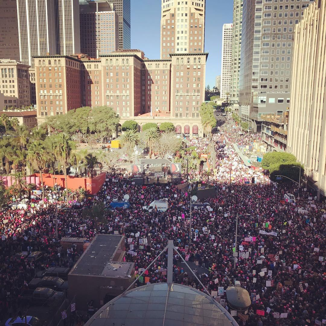Los Angeles, Seattle, New York, Washington: #WomensMarch2018