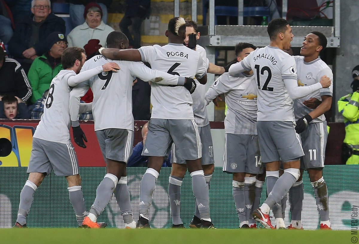 Manchester United's photo on Burnley 0-1 Manchester United