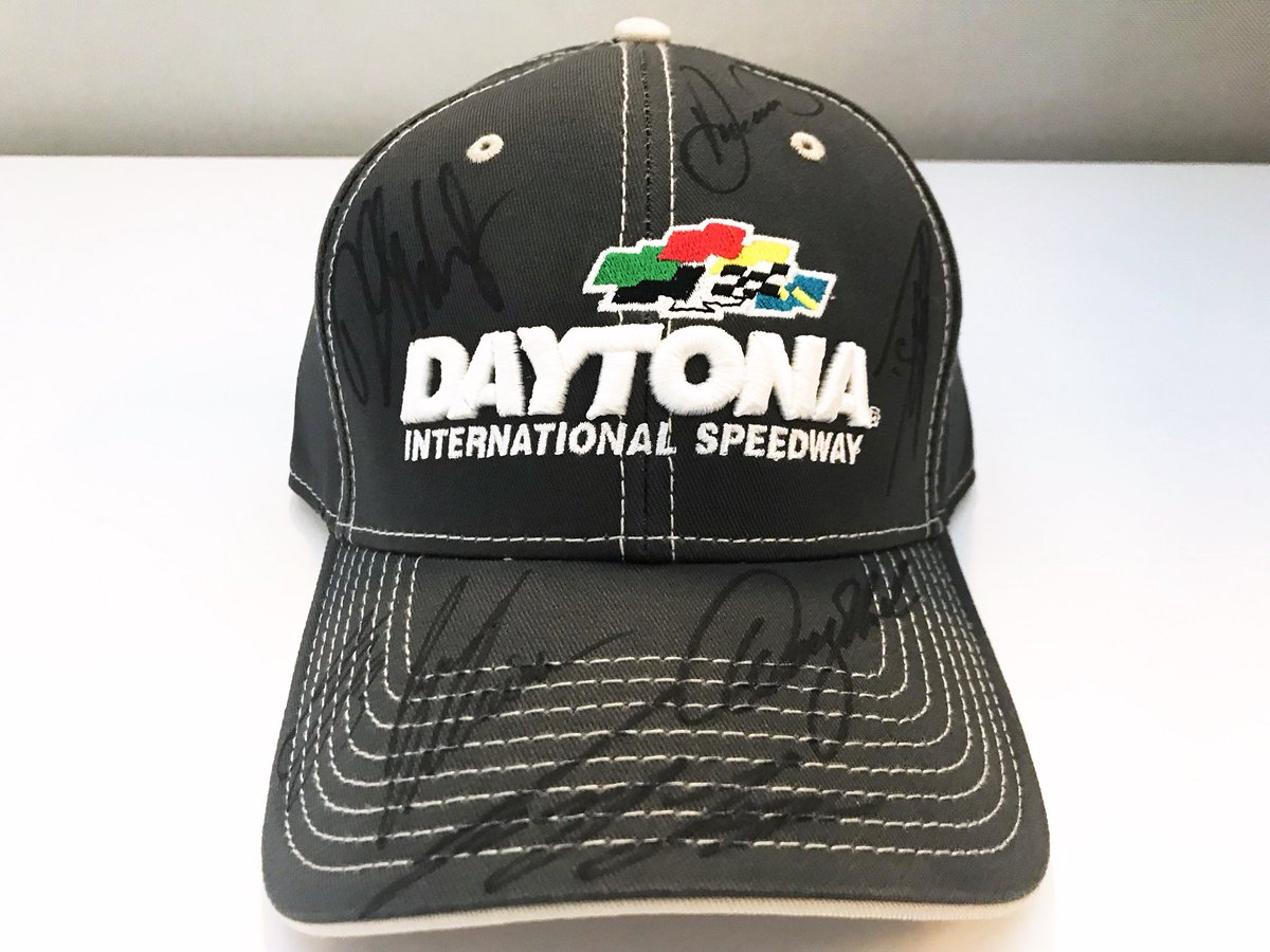 Another giveaway coming at you for @NASCAR #FanAppreciationDay!  RETWEET for your chance to win this hat signed by @dennyhamlin, @DanicaPatrick, @austindillon3, @RyanJNewman, @joeylogano, @BubbaWallace & !   @Daniel_SuarezGWe'll pick a winner later today!
