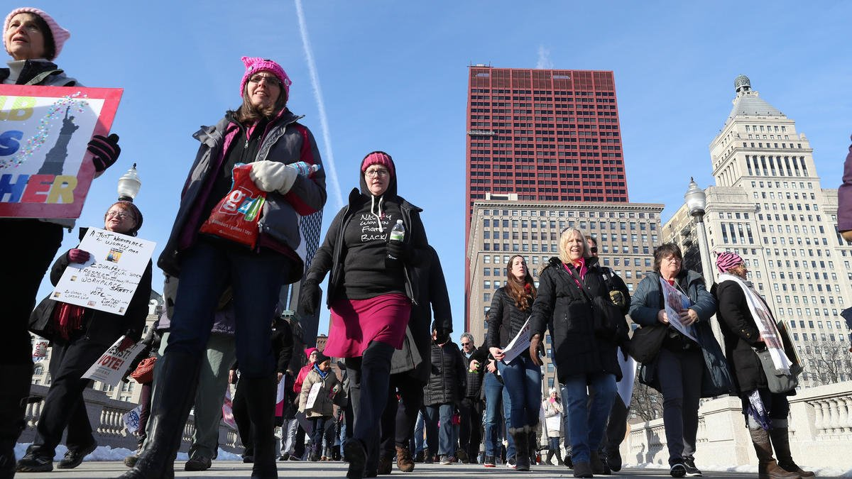 Live blog: Latest updates, photos, video from the 2018 Women's March Chicago https://t.co/R6WRRuIsmy