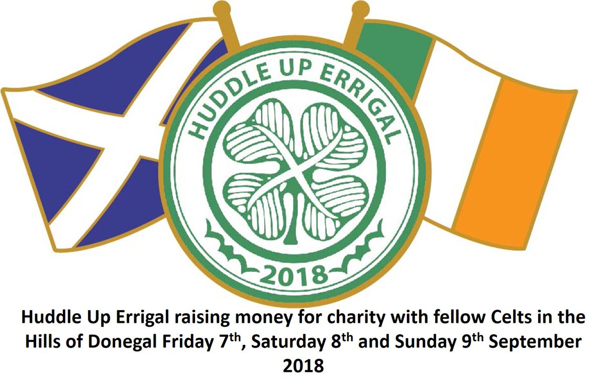 Huddleuperrigal on twitter huddle up errigal remembering 130 huddle up errigal remembering 130 years of celticfc while raising money for charity in the hills of donegal 7 8 and 9 september 2018 biocorpaavc