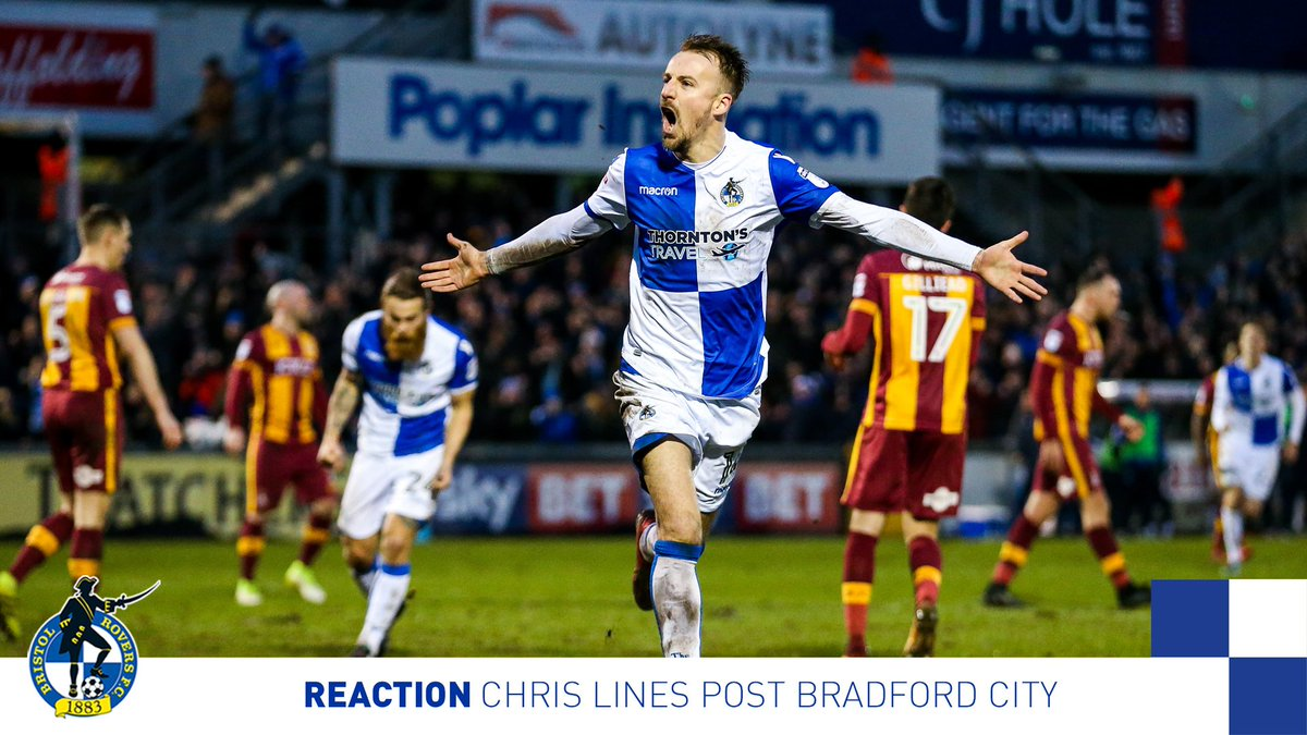 💬'It was nice to see that kind of atmosphere back at the Mem.'  📺 Goalscorer @Linesy8 reflects on yesterday's win ➡️ https://t.co/ALpWUlOhGv