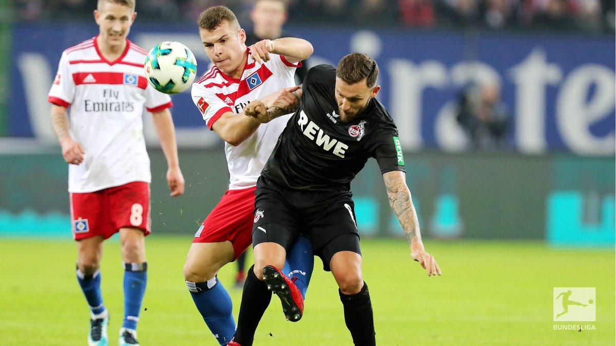 👊💪🤜🤛  #Bundesliga #HSVKOE (0:1) https://t.co/qhGUKBBj6G