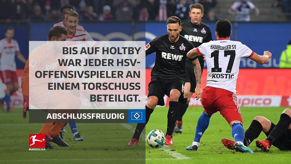 Der @HSV bleibt dran!  #Bundesliga #HSVKOE (0:2) https://t.co/6eqfsTJgx4