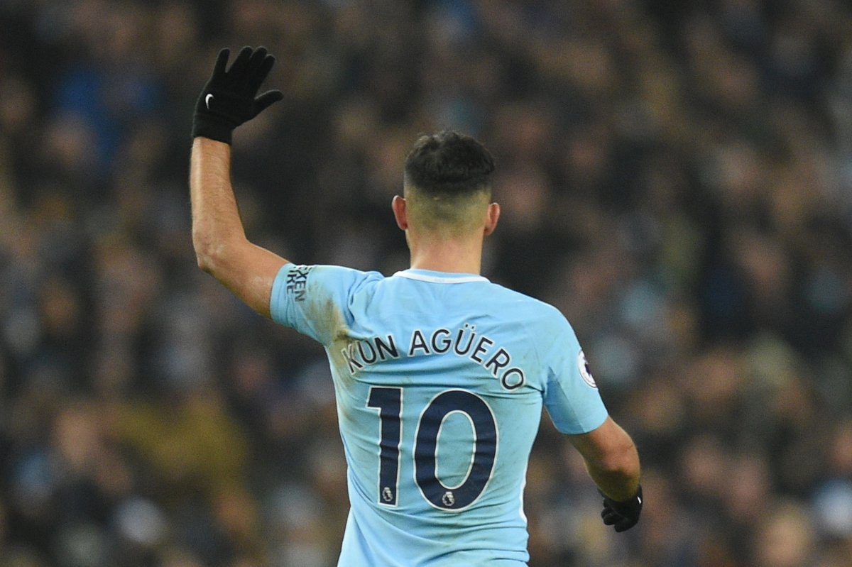 Match of the Day's photo on Sergio Aguero