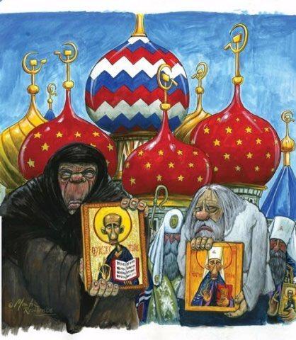 УПЦ КП подала заяву до ЄСПЛ про розгром сімферопольського храму, - архієпископ Климент - Цензор.НЕТ 4500
