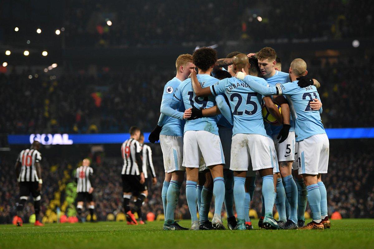 Premier League's photo on Man City 3-1 Newcastle