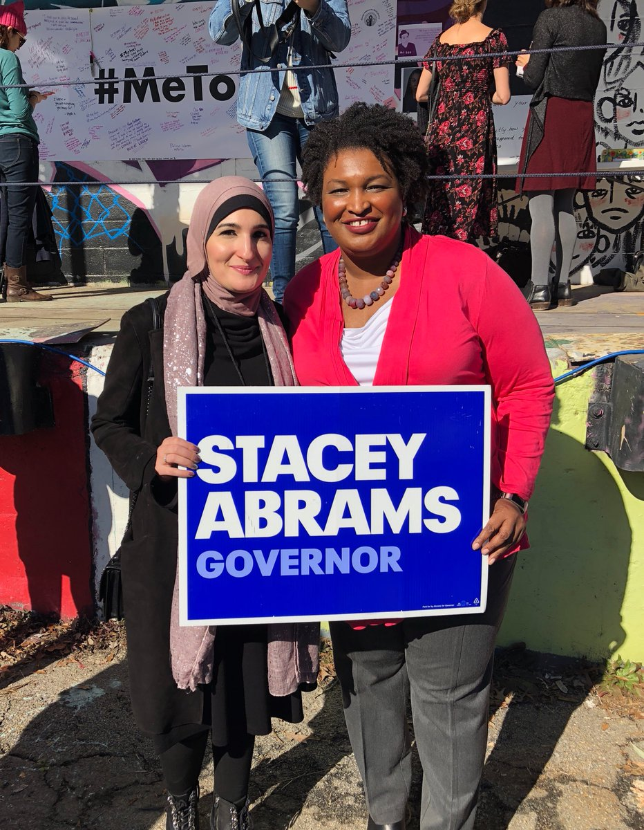 Stacey Abrams On Twitter Proud To Stand With Activist Organizer