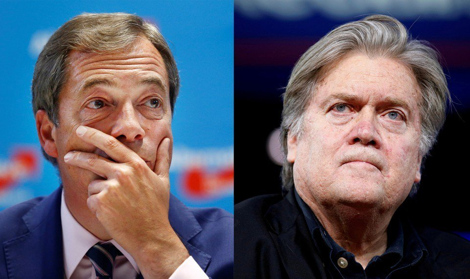 What can we learn from comparing the rise and fall of Steve Bannon and Nigel Farage? @YasmeenSerhan takes a look https://t.co/GOQnUq8oJY