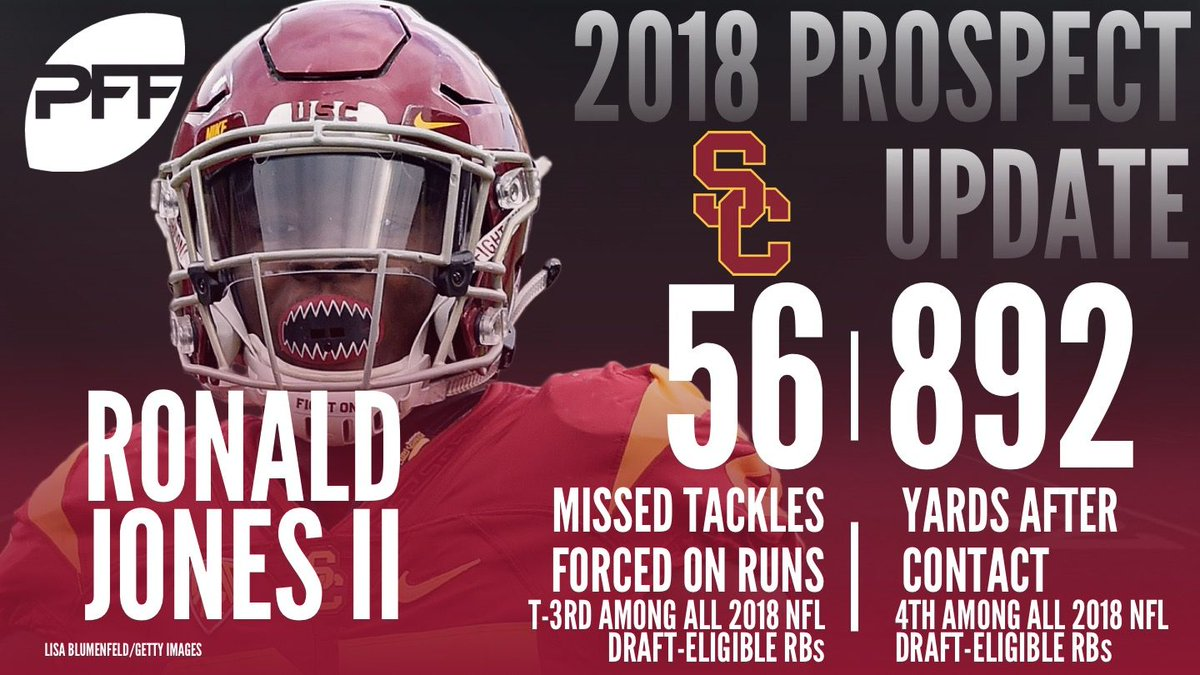 Pff College On Twitter Ronald Jones Had A Big Year For Usc