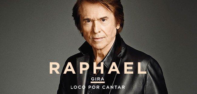 El 6 de marzo @RAPHAELartista #LocoPorCa...