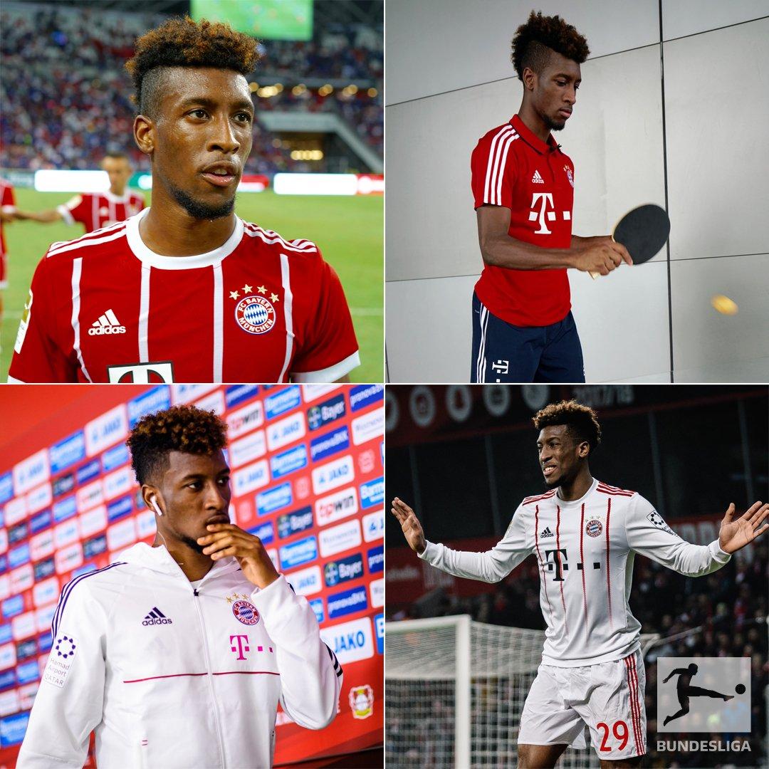 _ 🏓 🤔_  Wer findet für die anderen Bilder von Kingsley #Coman die passenden Emojis? 😀 #Bundesliga @FCBayern https://t.co/3QWVyWDaEj