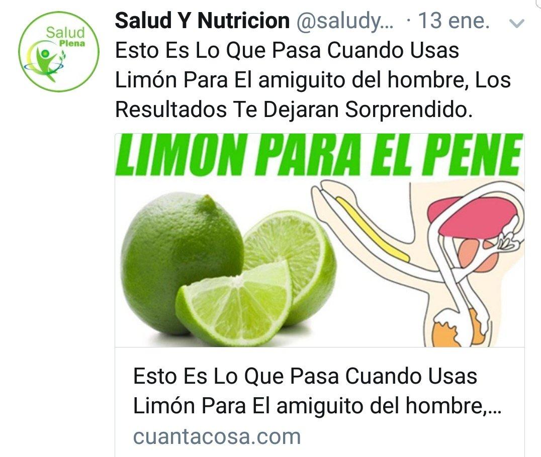 El limón, el amigo del hombre. 😂 Ya sabé...