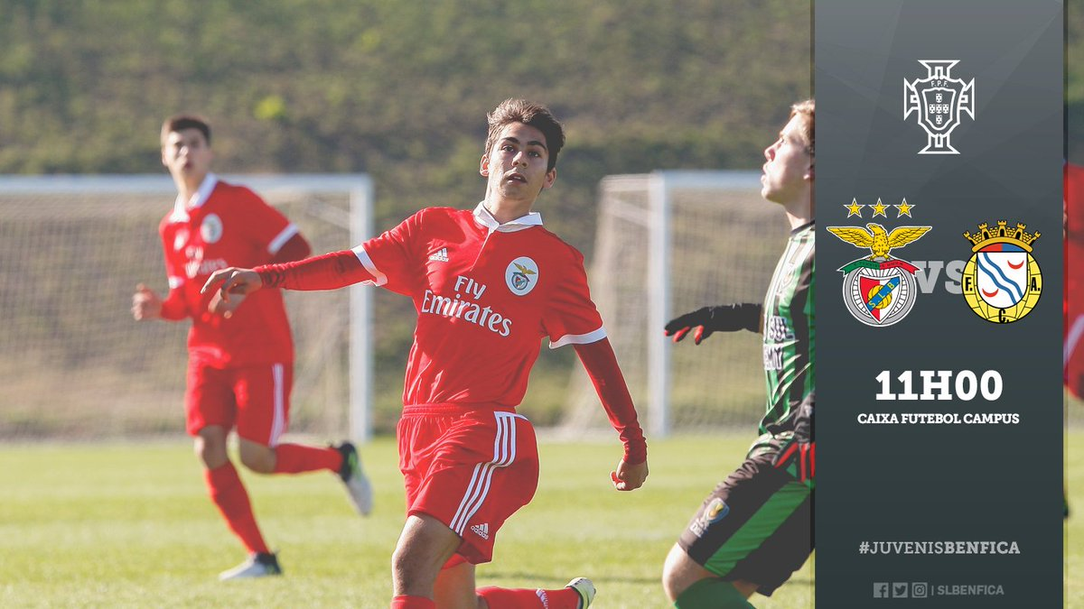 🔜 FC Alverca vs. #JuvenisBenfica! #FormarAGanhar