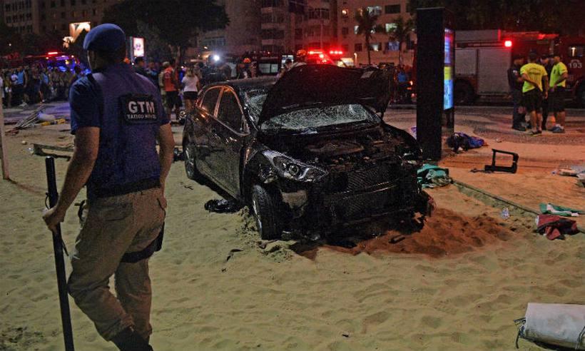 'Ele matou a mim também', diz mãe de bebê atropelado por carro em #Copacabana https://t.co/VVk0fOpIPF