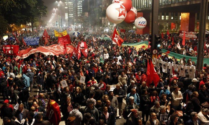 Justiça proíbe ato pró-Lula na Avenida Paulista no dia do julgamento https://t.co/TbEh93GqNq