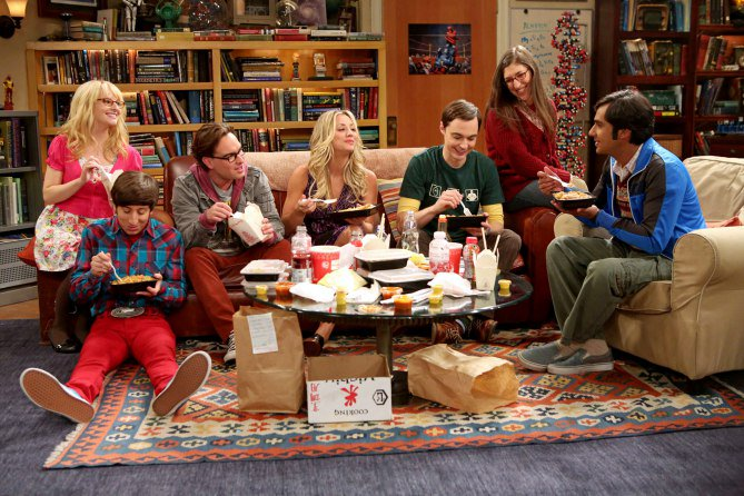 See the cast of #TBBT before they were s...