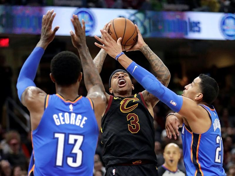 Oklahoma City scores 148 points in Thunder victory against Cleveland Cavaliers https://t.co/lszWpIUXyU