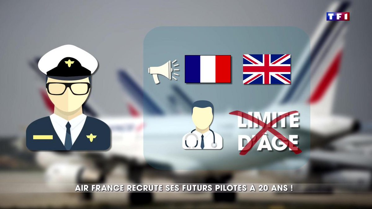 Air France recrute des pilotes de ligne à partir du bac https://t.co/jCbulzdndS