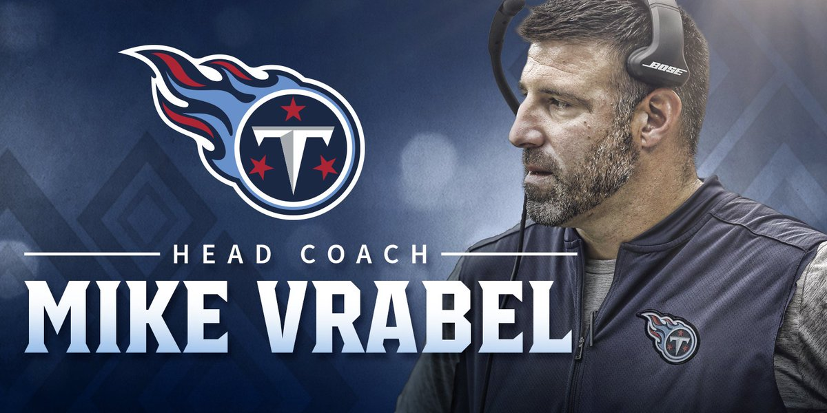 .@Titans hire new head coach, Mike Vrabel, last year's defensive coordinator for Houston Texans: https://t.co/qv0w44XxqL More on FOX 17 News at 9 p.m.