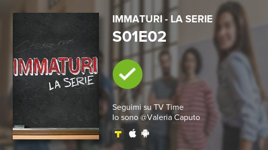 I've just watched episode S01E02 of Imma...