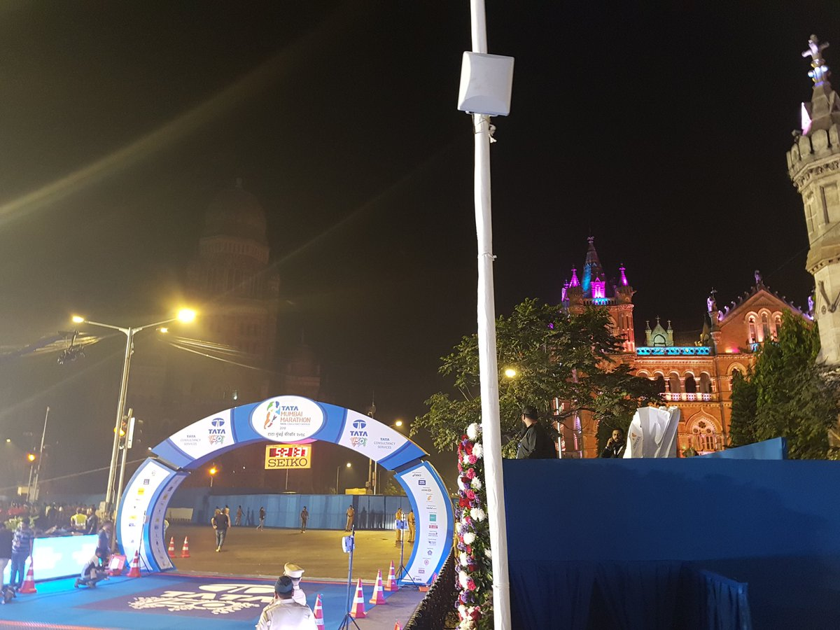 We're all set for #TMM2018! Follow us on Facebook, Instagram and @People_TCS for all the live updates and hightlights. #RunWithTCS #BetterTomorrow #Fit4Life #MumbaiMarathon