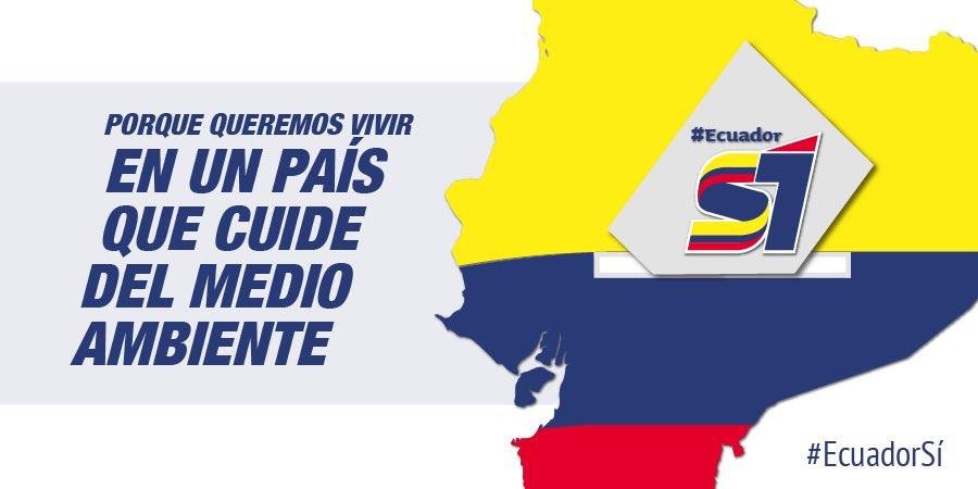 RT @mfespinosaEC: Tenemos la responsabilidad de proteger las nuevas generaciones #EcuadorSí https://t.co/xMSu6mDuRg