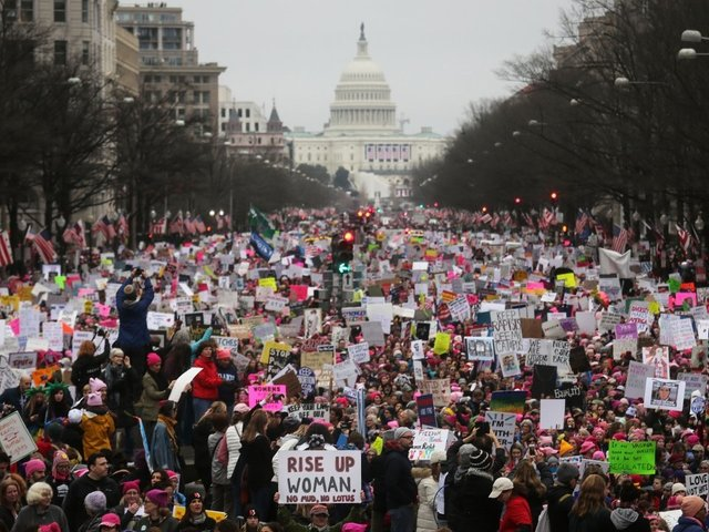 Women's March 2018: One year later, turnout strong for nation-wide protests:  https://t.co/suCjXPQ5Xn #abc15