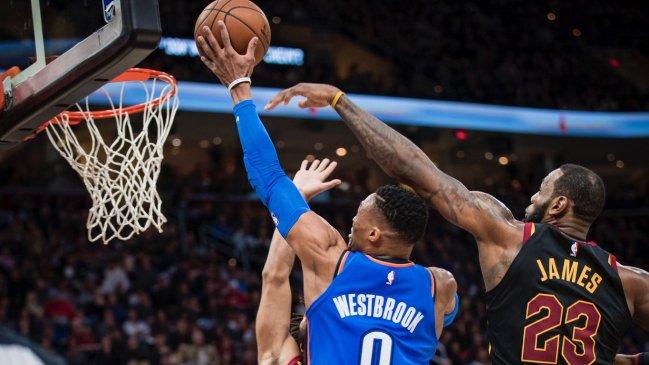 Oklahoma City Thunder le dio una paliza a Cleveland Cavaliers #CooperativaVacaciones #NBA https://t.co/a7f6Vufu6i